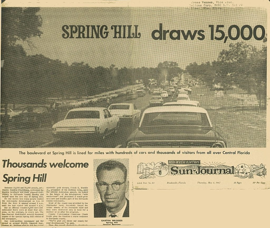 Spring Hill opening