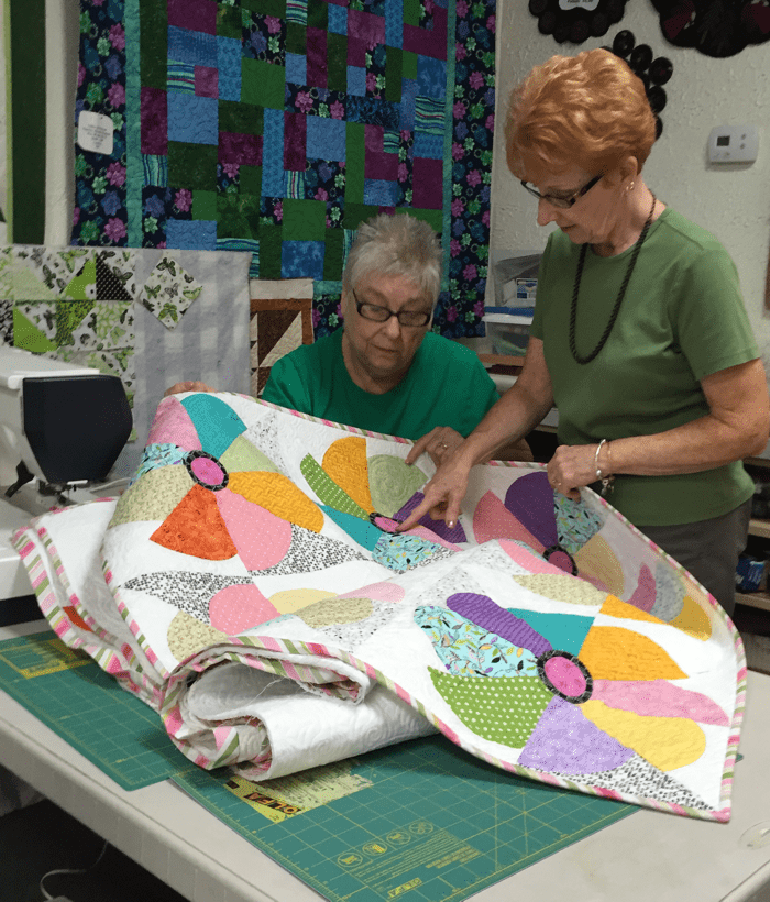 Plums on Quilt Lane offers classes, as well as a great selection of fabrics, notions, and personal service.