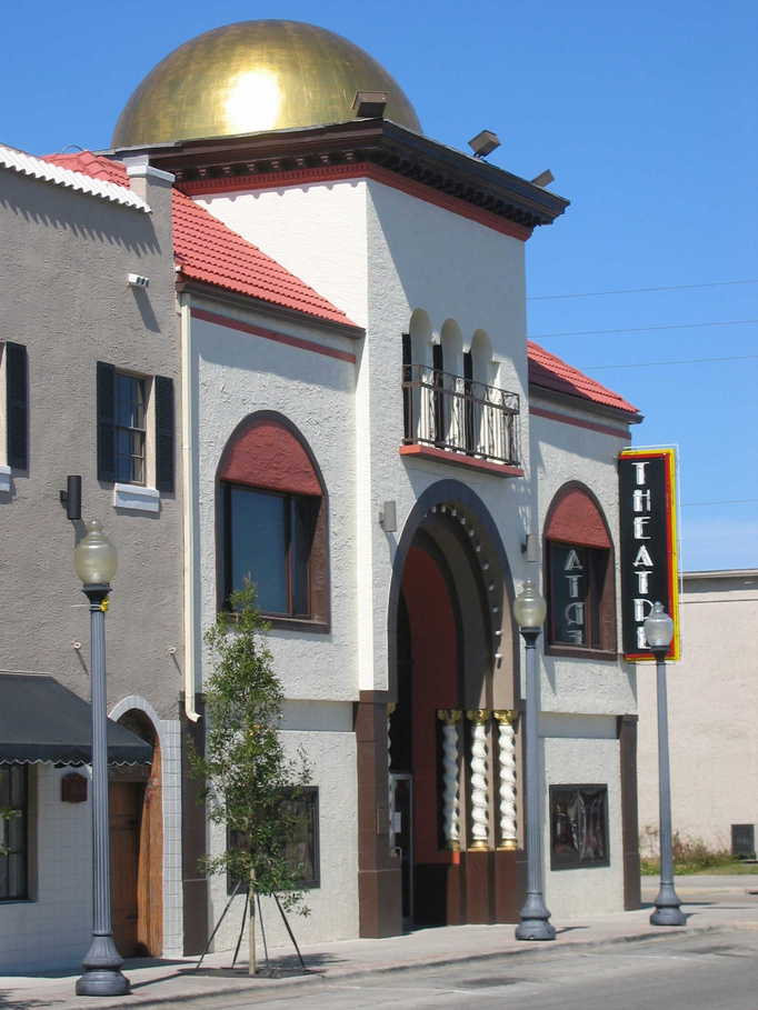 The beautiful buildings that make up New Port Richey's downtown core add to the enjoyment of shopping small. Theatre tickets make great gifts!