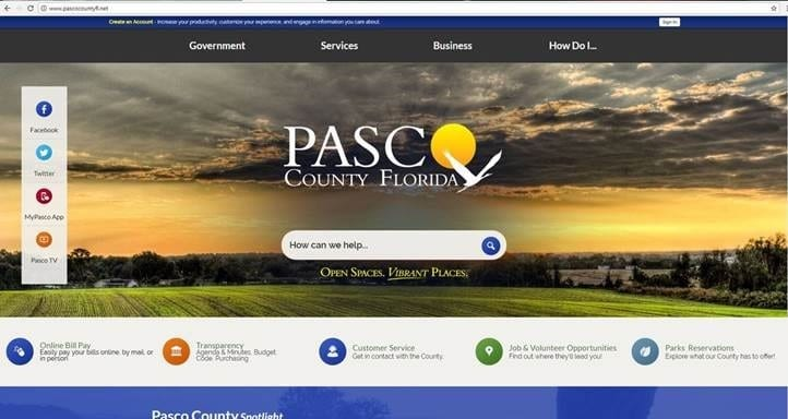 Cool Pasco County Launches Updated Website Naturecoaster Com Home Remodeling Inspirations Propsscottssportslandcom