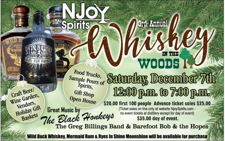 whiskey in woods 2019
