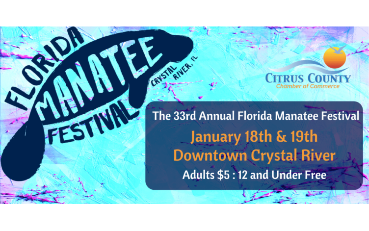 33rd annual manatee festival