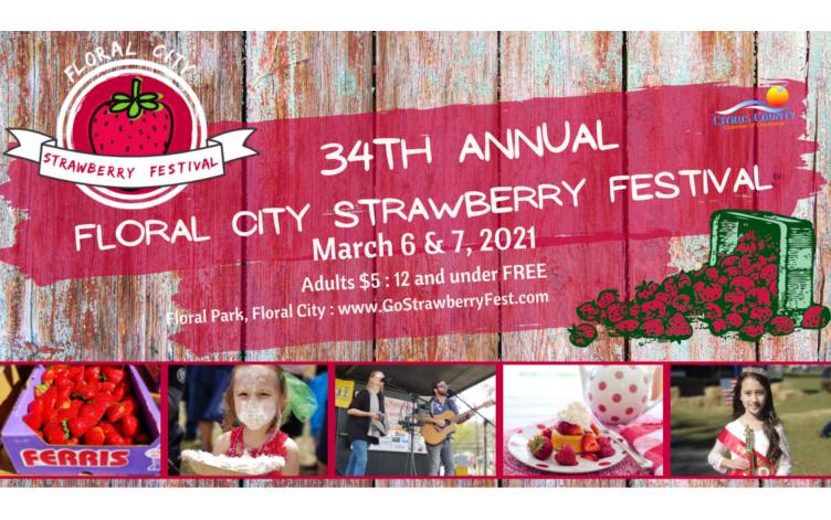 floral city strawberry fest 2021