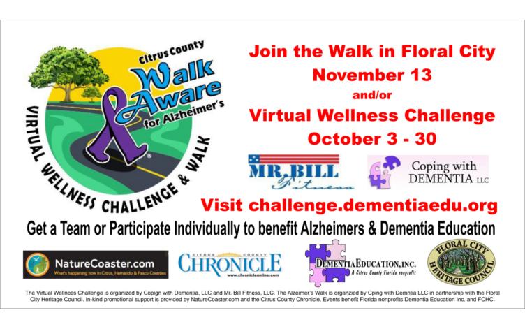 Citrus Walk Aware Virtual Fitness Challenge 2021